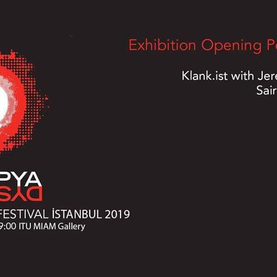 Distopya Sound Art Festival İstanbul 2019