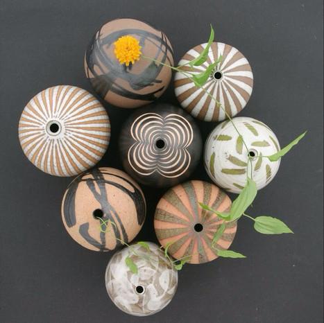 collaboration with ceramic artist