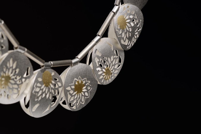 Kiku reversible necklace / キク・リバーシブル・ネックレス