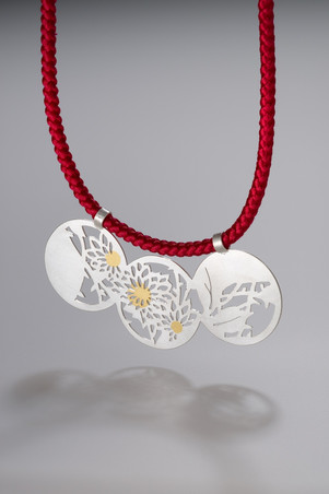 Wagara necklace / 和柄ネックレス