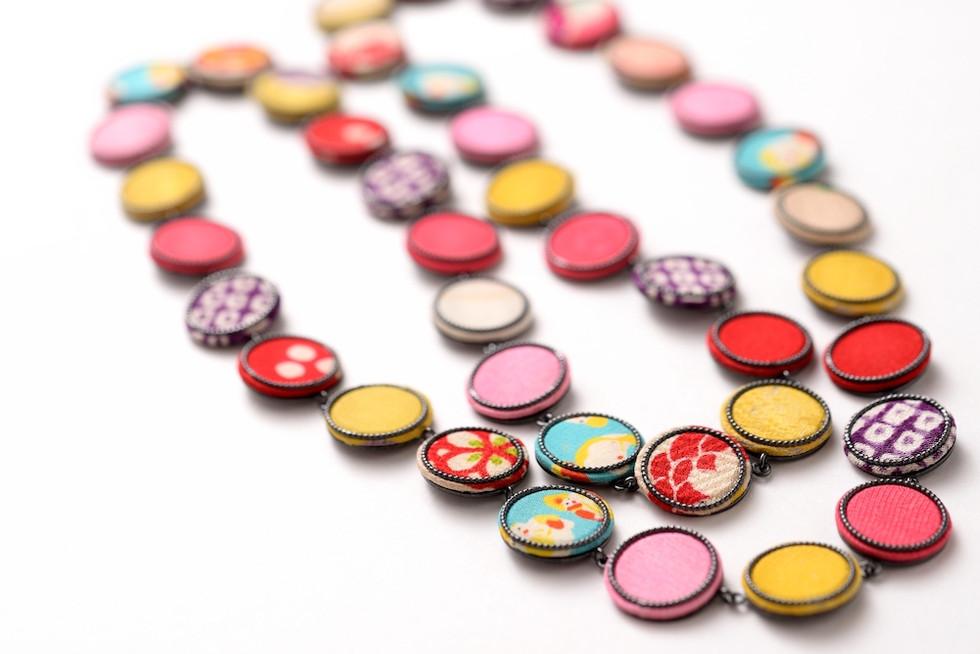 Chirimen necklace / ちりめんネックレス