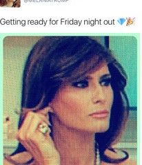 The End of Spring Semester As Told by Melania Trump Tweets