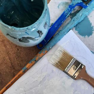 peinture fresque