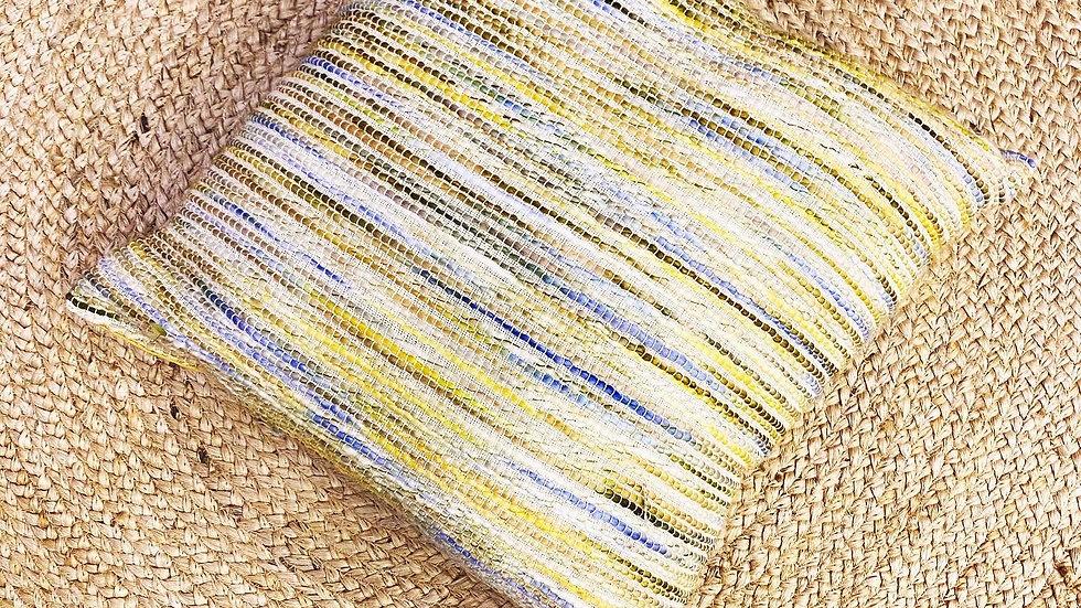Yellow acrylic cushion (set of 2)