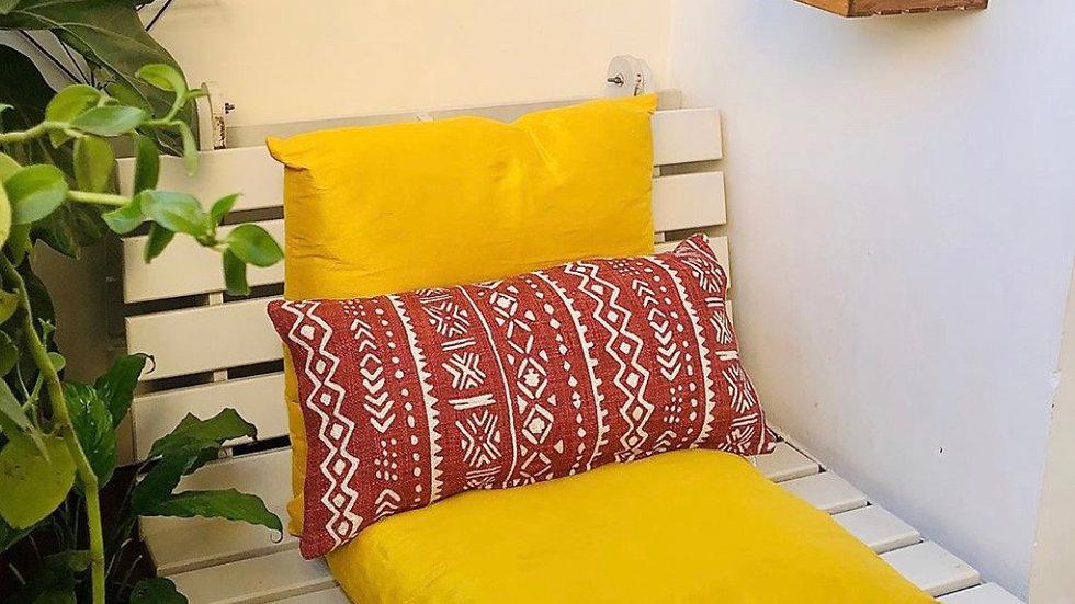 Moroccan lumbar pillow cover