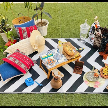 Picnic set up by @all_youneedis_dat_  Th