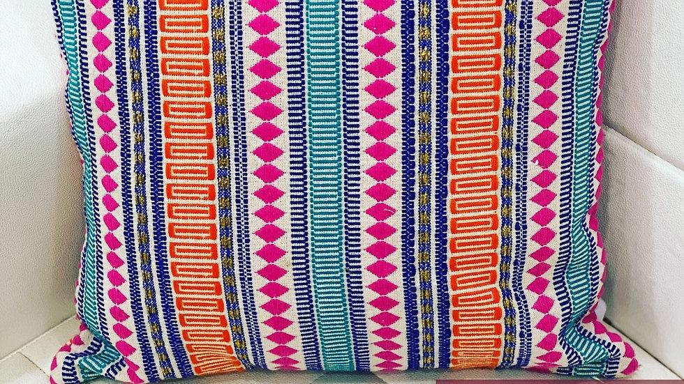 Multi jacquard cushion