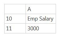 Excel Function Offset - Upskill 4