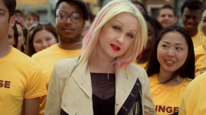CYNDI LAUPER Forty to None Project: America's Next Generation