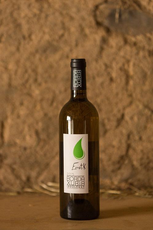"Vin blanc cuvée ""Errotik"" Domaine Bordaxuria-AOC Irouleguy"