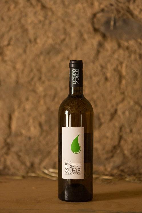 Vin blanc Domaine Bordaxuria-AOC Irouleguy