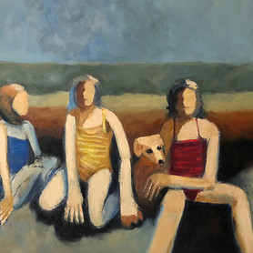Three Sisters on the Beach