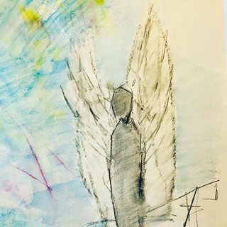 Covid Angel (detail)