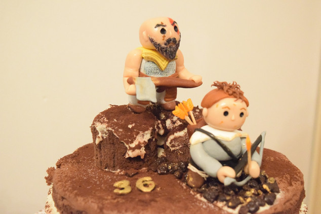 God of War Pastası!