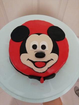 Kutay'ın Smash Cake'i - Mickey Mouse Pasta