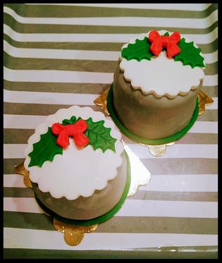 Minik Yılbaşı Pastaları
