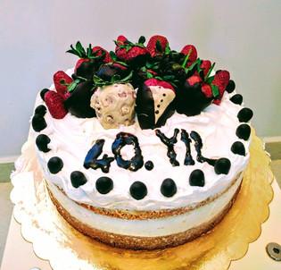 Annem ve Babam için 40 yıl pastası