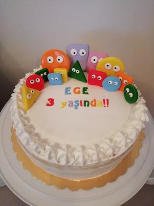 Geometrik Şekil pastası