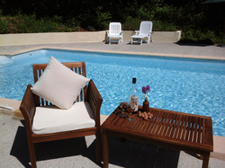 The Pool and Seating Area