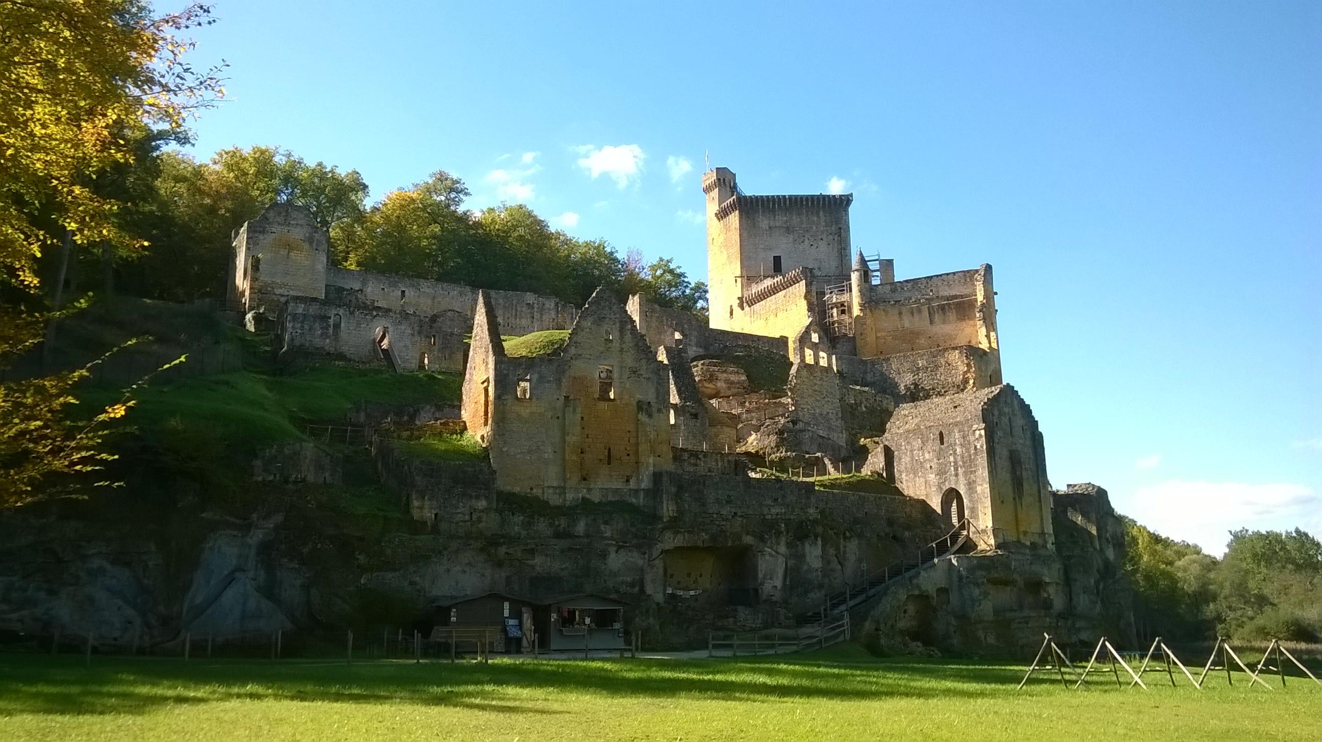 Chateau de Commarque, near Les Eyzies