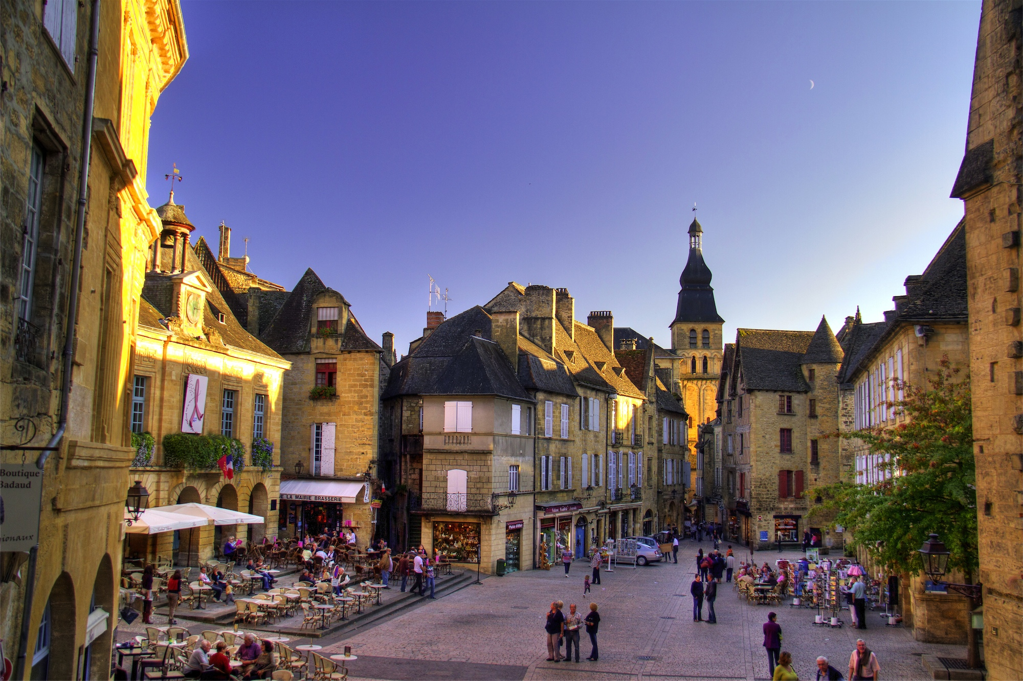 Sarlat At Dusk
