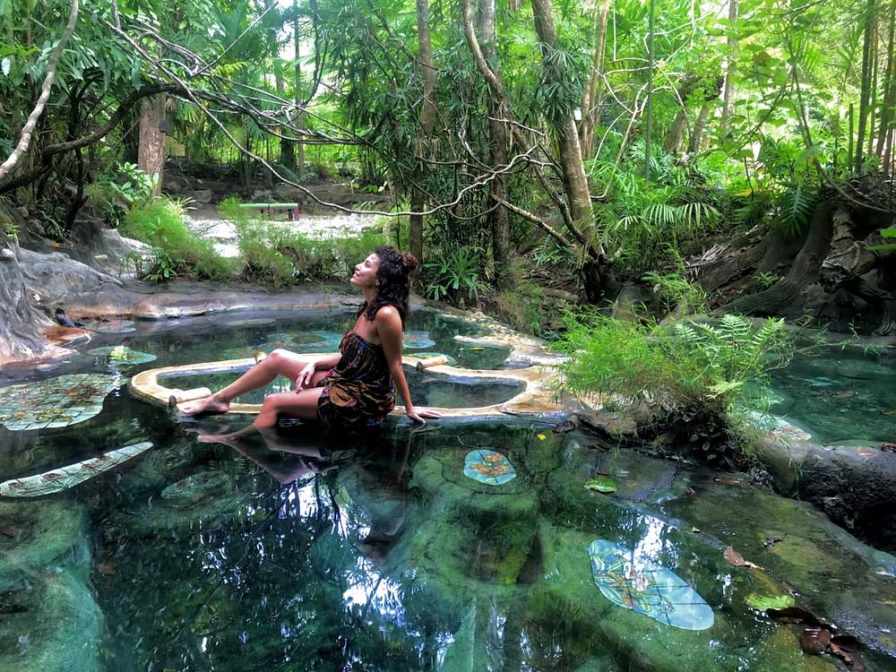 Wareerak Hot spring Krabi