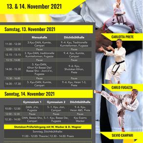 Shotokan-Tag in Bad Waldsee mit italienischem Trio