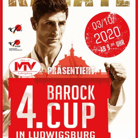 Anmeldung für Barock-Cup am 3. Oktober in Ludwigsburg