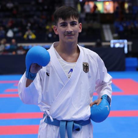 Youngster Muhammed Özdemir ist erneut Europameister