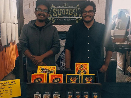 Screen Printing Brothers, Sucios , will be at Pocket Market!