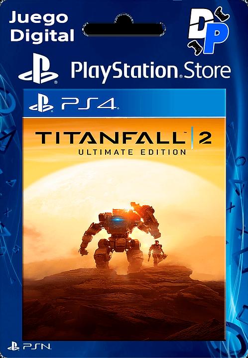 Titanfall 2 Ultimate Edition Digital para PS4