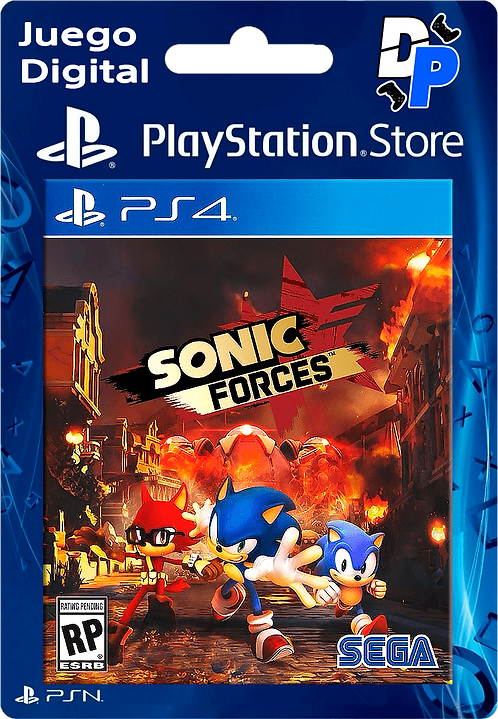 SONIC FORCES Digital Standard Edition para PS4