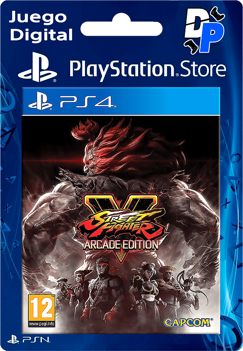 Street Fighter V - Arcade Edition Digital para PS4