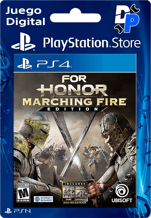 For Honor edición Marching Fire Digital para PS4