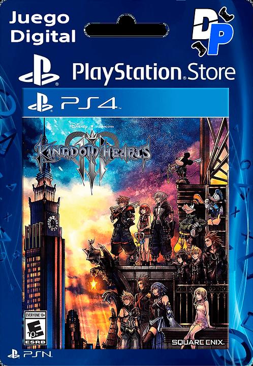 KINGDOM HEARTS III Digital PS4