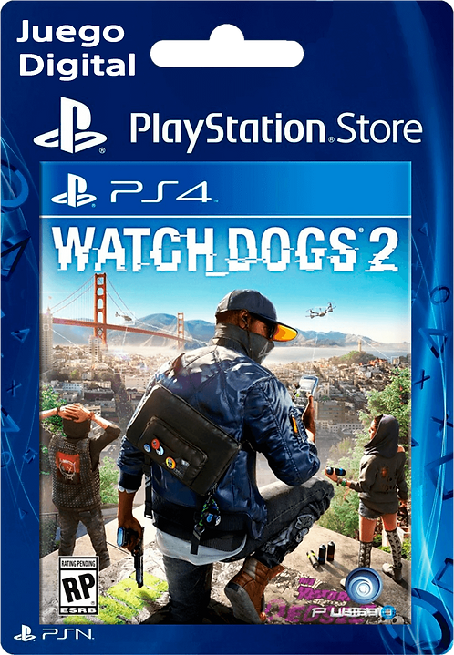 Watch Dogs 2 Digital para PS4