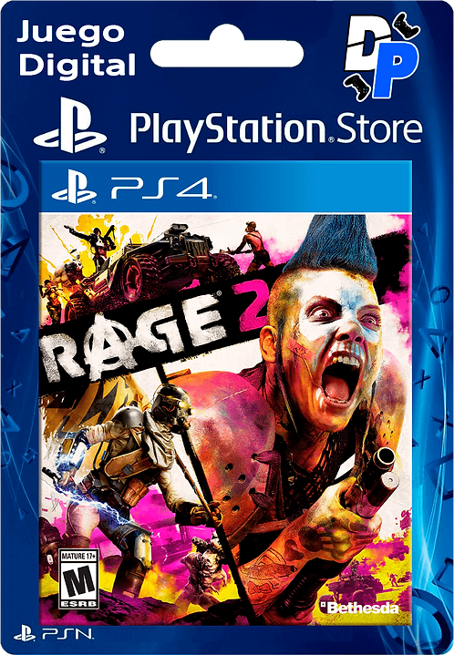 RAGE 2 Digital PS4