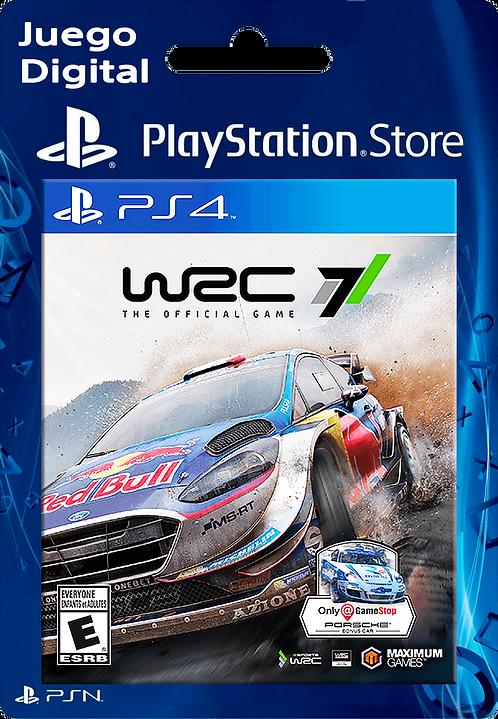 WRC 7 FIA World Rally Championship Digital para PS4