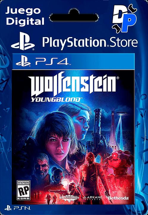 Wolfenstein: Youngblood Digital PS4