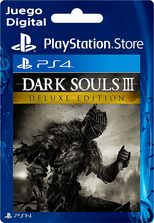 DARK SOULS III - Deluxe Edition Digital para PS4