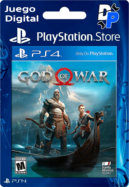 God of War Digital para PS4