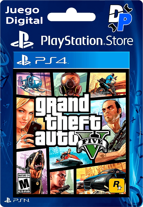 Grand Theft Auto V Digital para PS4