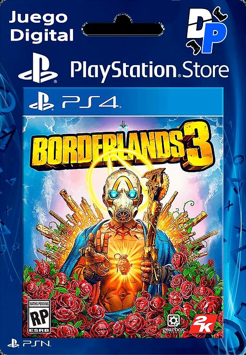 Borderlands 3 Digital PS4