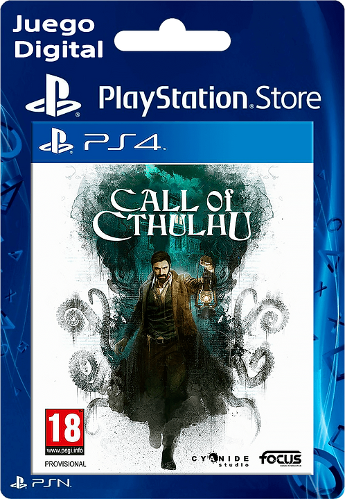 Call of Cthulhu Digital PS4