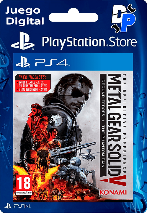 METAL GEAR SOLID V: THE DEFINITIVE EXPERIENCE Digital para PS4