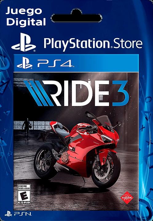 RIDE 3 Digital PS4