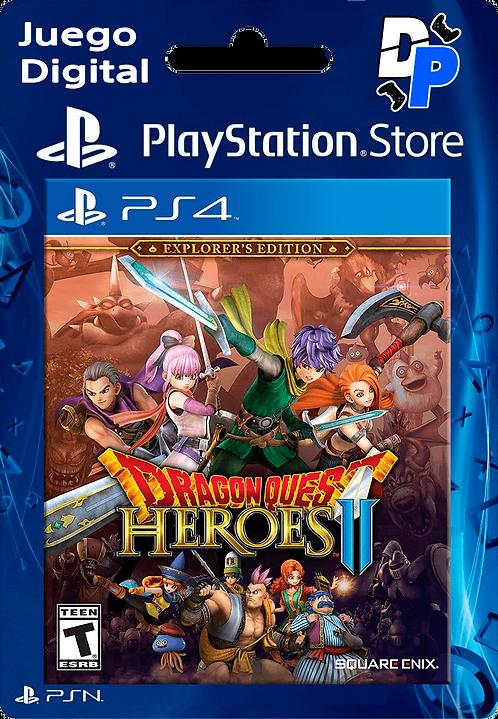 DRAGON QUEST HEROES II™ Edición Explorador Digital para PS4