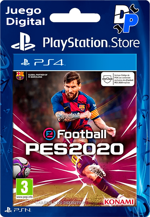 eFootball PES 2020 Standard Edition Digital PS4