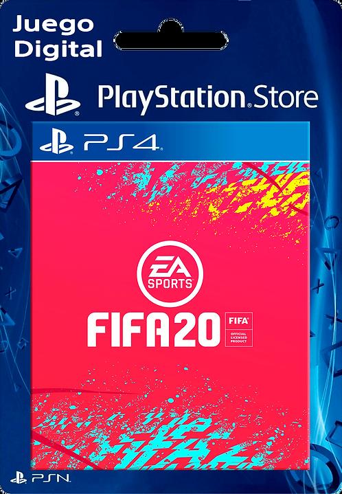 EA SPORTS FIFA 20 Edición Estándar Digital PS4