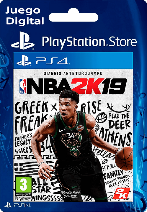 NBA 2K19 Digital para PS4
